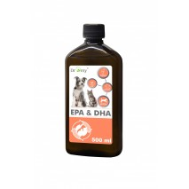 Suplement Dromy Olej Omega EPA & DHA 500ml